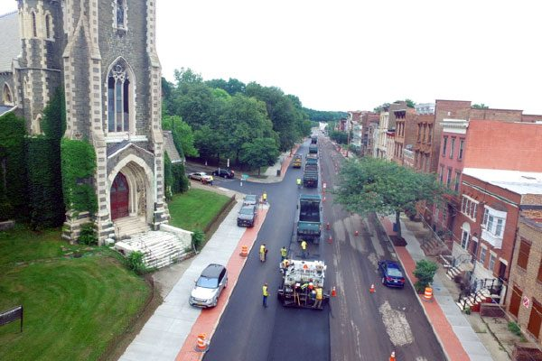 Luizzi Bros. City of Albany Paving Project