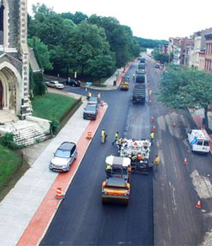City of Albany paving project by Luizzi Bros