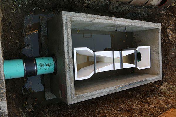Sewer meter