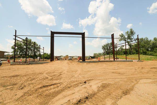 Interstate metal frame work