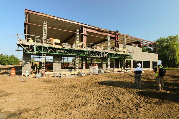 Interstate Ave building facade