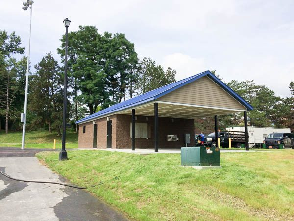 Concession Stand front view