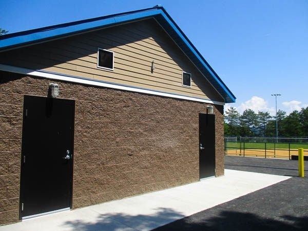 Concession Stand restrooms