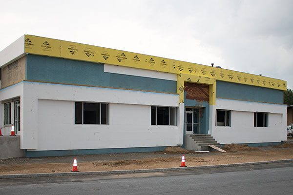 Lennox offices and warehouse space under renovation