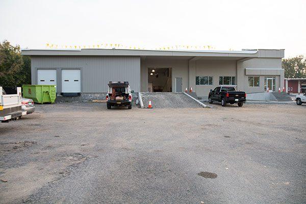 Lennox loading docks under renovation
