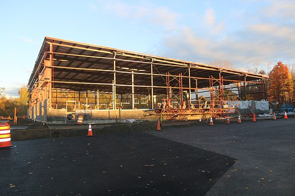 Framing for new commercial construction