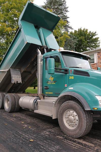 Presidential Estates dump truck