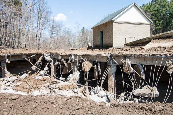 Water Filtration Plant demolition