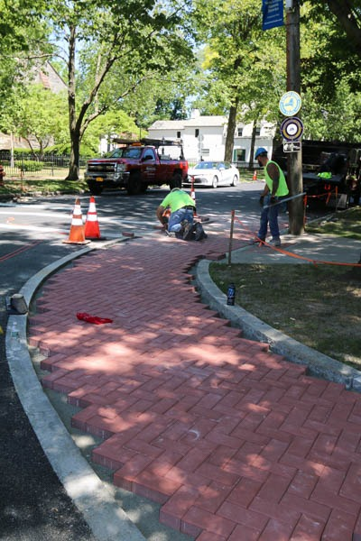 Union Ave pavers