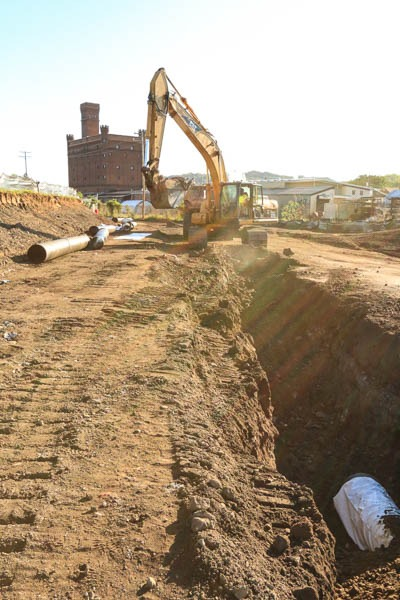 South Troy excavating