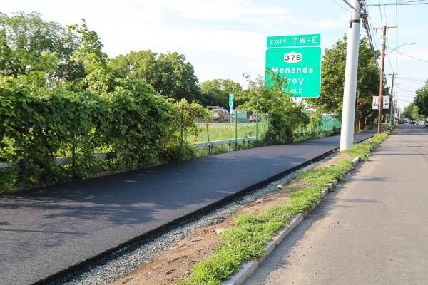 Watervliet Bike Path paved